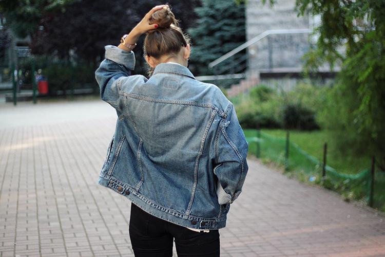 levi's kurtka outfit