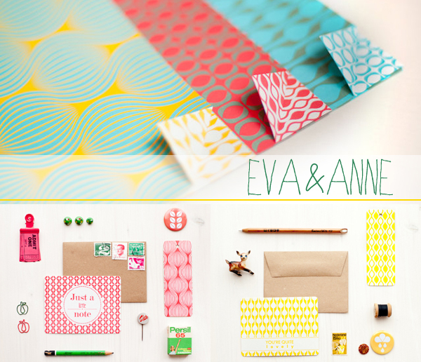 pattern crush : Eva & Anne | Emma Lamb