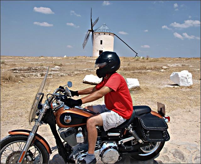 Campo de Criptana / hoy dia Don Quijote