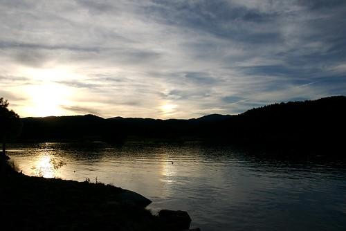 sunset vacation usa lake newmexico innofthemountaingods mescalaro
