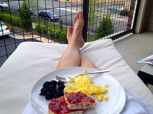 Sunday Balcony Breakfast