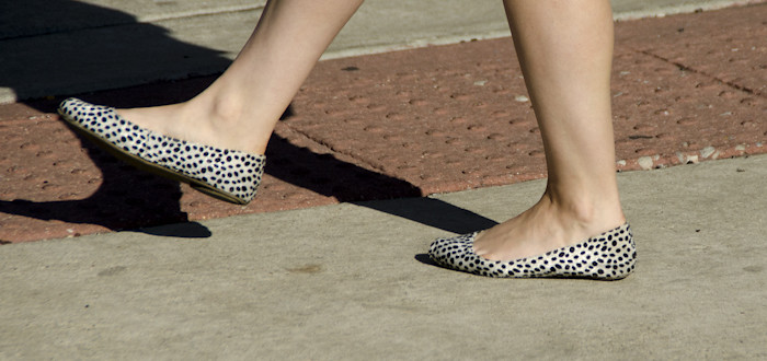 flats with dots, weekending