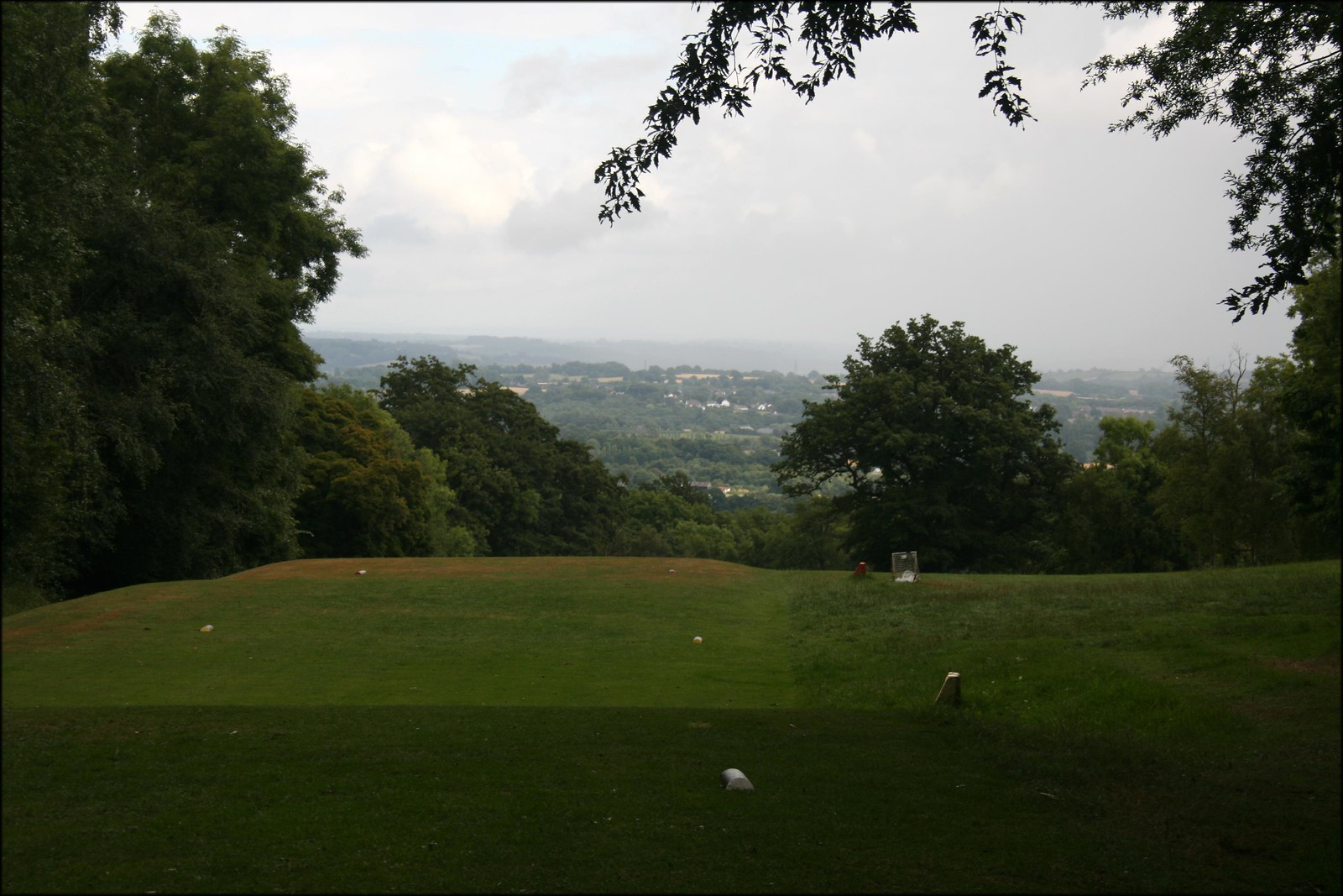 View from the golf course in Beauport Park, near Hastings