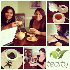 Today\'s project #instagramvideo for client: Teaity #tea #socialmedia #instagram