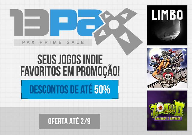 Pax Prime Sale - Ofertas de Jogos Indie