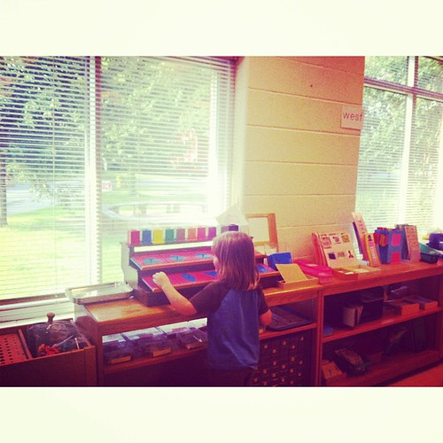 It's finally here! Killian starts #Montessori school!