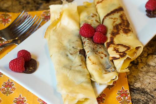 Nutella Crepes #SundaySupper