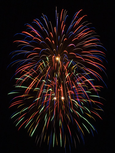Fire Works by Big Mike's Photography