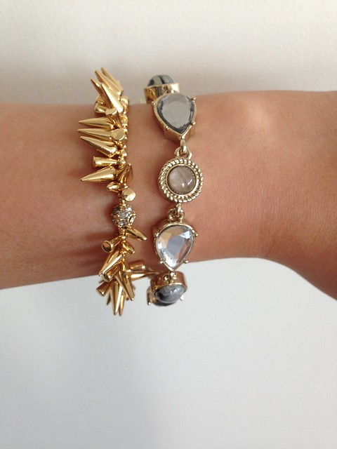 LOFT Cabochon Toggle Bracelet in Gold