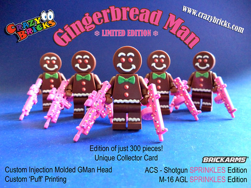 Gingerbread Men are HERE!