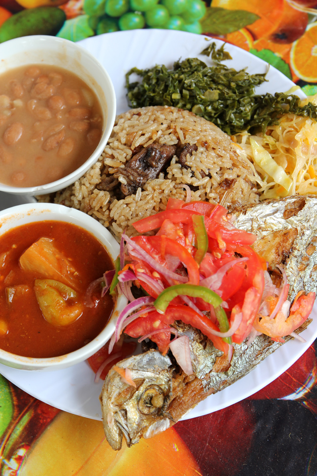 Grace Home Style Tanzanian Food One Of The Best Lunches You Can Eat In Dar Es Salaam