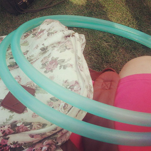 #ACLFest essentials: cute backpack & trusty hoop!