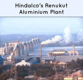 aluminium industry hindalco-renukut