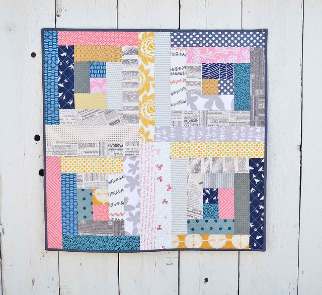 Log Cabin Wall Quilt