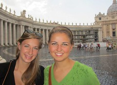 Sydney Herndon, at left, will spend her fellowship working with the World Food Programme in Rome, Italy and Washington, D.C.