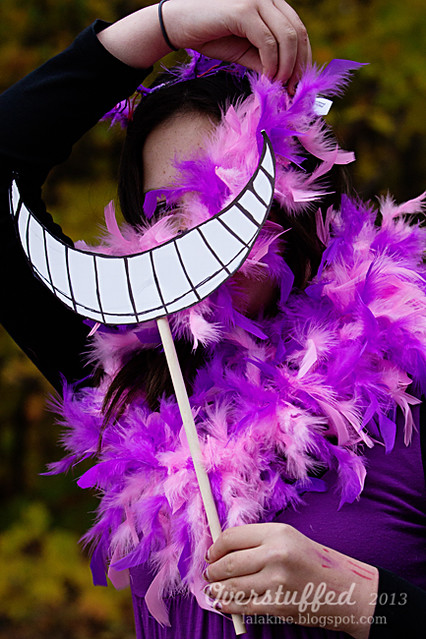 DIY Cheshire Cat Costume