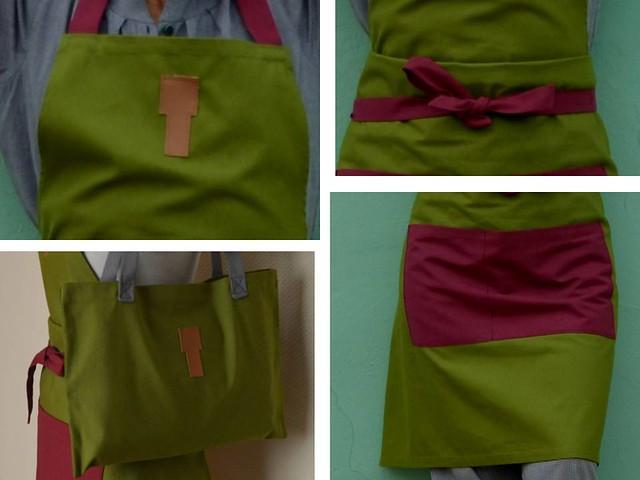 Presentación verde- morada