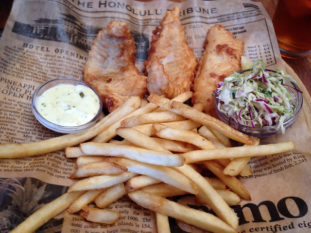 Fish n 39 chips at pacific catch in san francisco near for Fish and farm sf