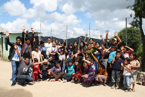 whole group in Guatemala