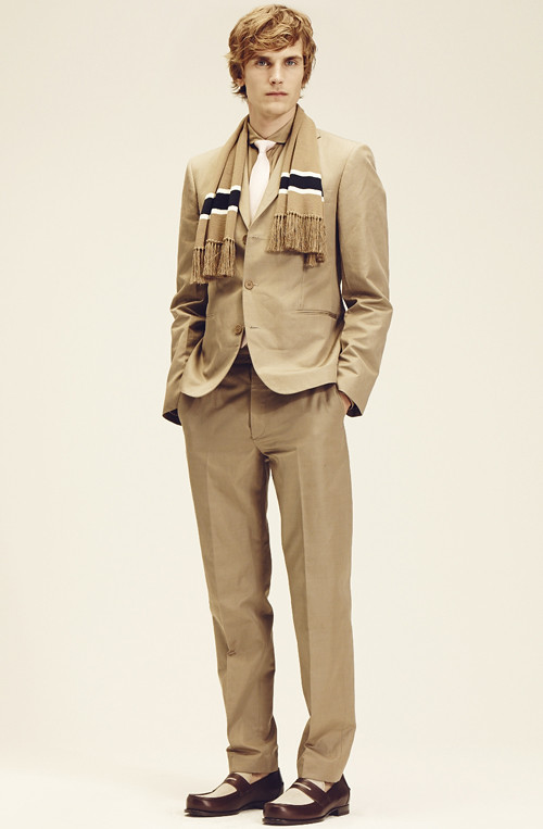 BOTTEGA VENETA  2014 CRUISE MENS COLLECTION010_Anthon Wellsjo