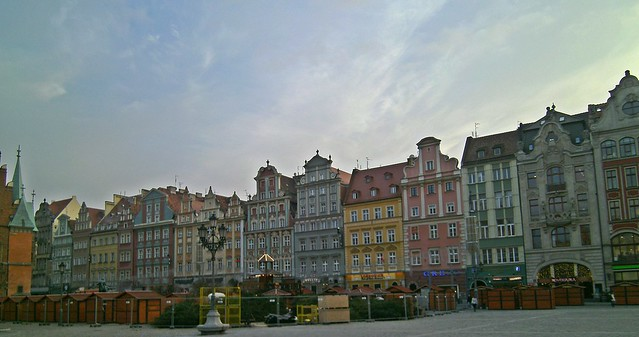Market Square, Wroclaw Poland by Flickr CC Mandy
