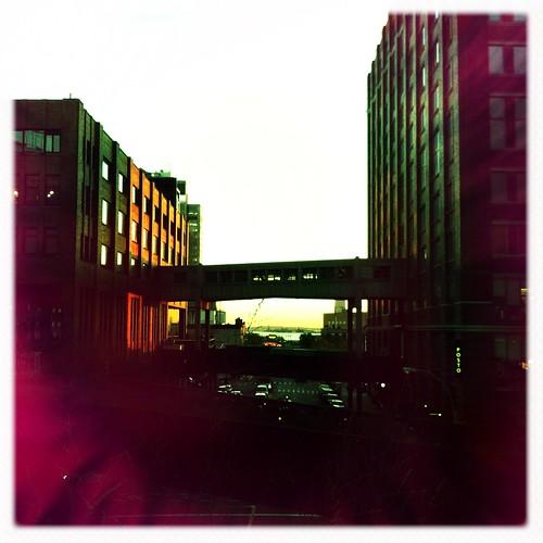 Gotham sundown