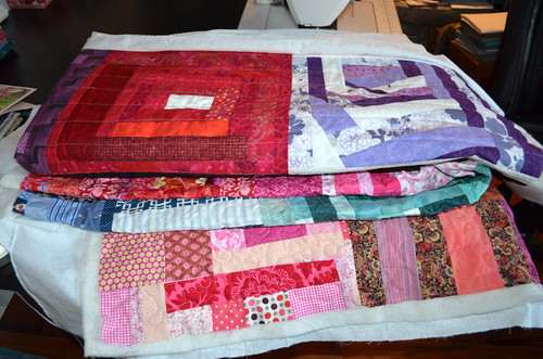 Slab quilts for Calgary - in progress