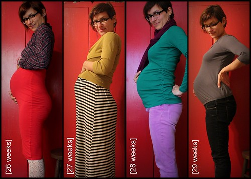 Bump Watch, 2013: Weeks 26-29.