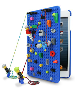 LEGO iPad Mini climbing wall