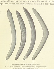 Image taken from page 89 of 'Among Cannibals. An account of four years' travels in Australia, etc. [Translated from the Danish.]'