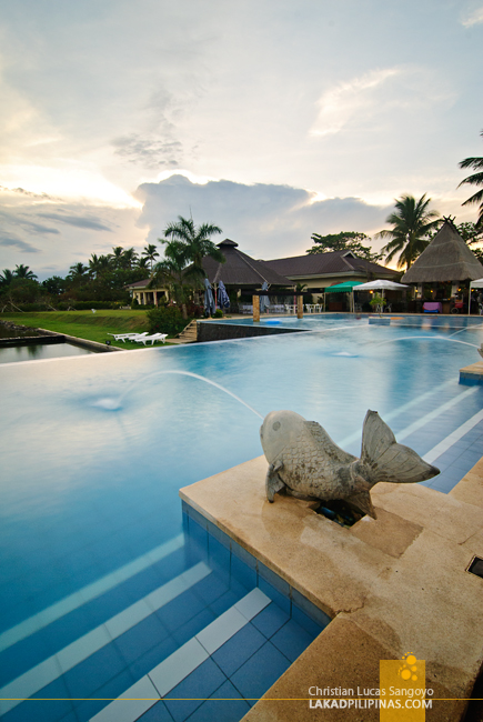 The Outdoor Pool at San Antonio Resort Roxas City