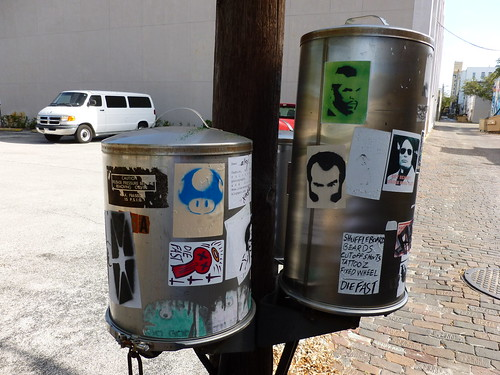 Sticker art canisters
