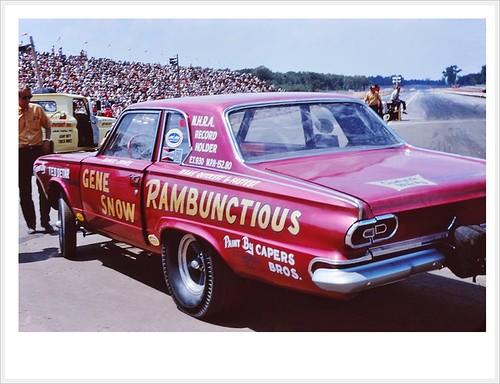 1966 Dodge Rambunctios Gene Snow by Rickster G