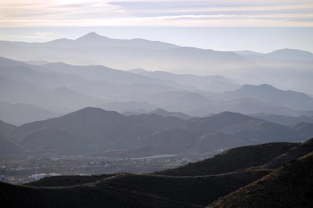 Hills in Almeria