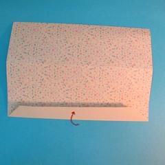 วิธีพับกระดาษเป็นผีเสื้อหางแฉก 014