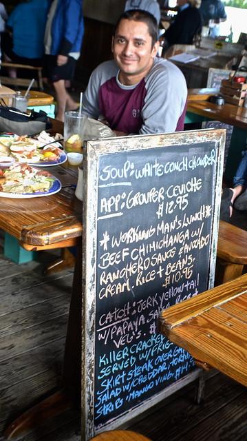 HogFish Bar and Grill, Stock Island - Menu