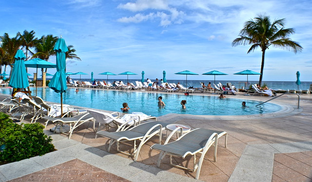 The Breakers Hotel, Palm Beach, Florida - The Beach Club - adult pool area