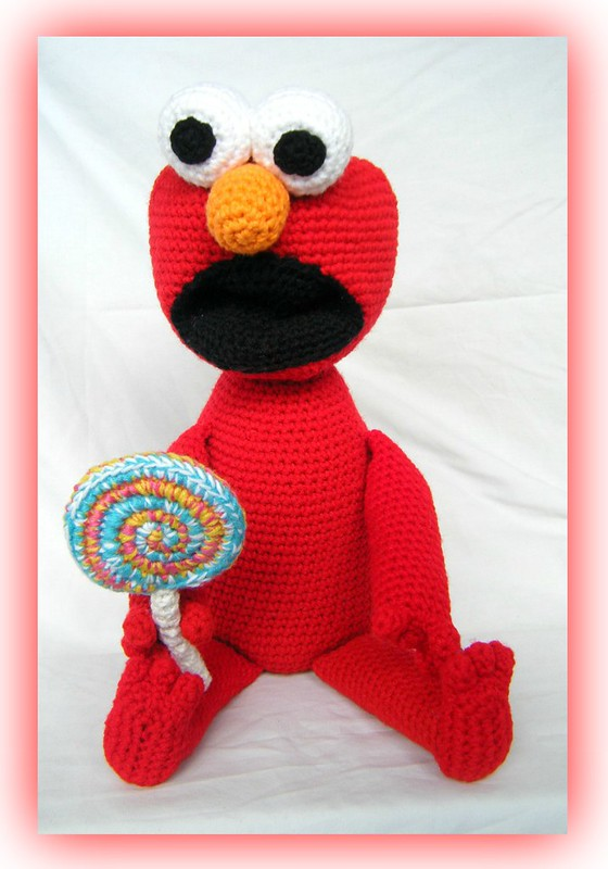 Elmo (w lollipop)