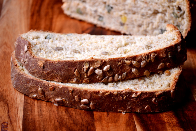 Mixed Seed and Honey Bread Recipe (4)
