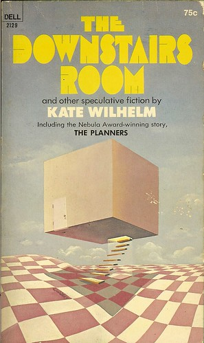 Downstairs Room - Kate Wilhelm - cover artist Ron Walotsky