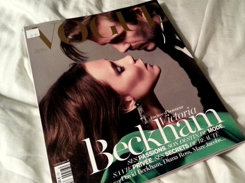 Paris Vogue The Beckhams Dec 2013