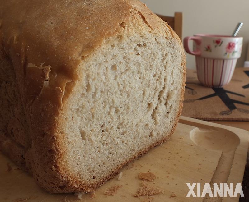 Pan casero de centeno