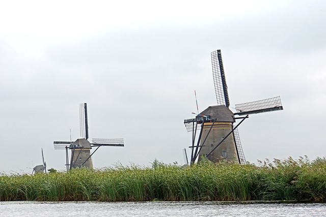 Netherlands-4729 - Nederwaard Windmills