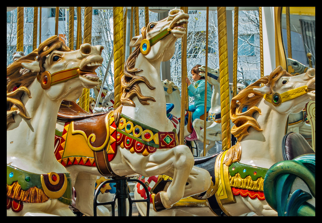 On the Carousel - San Francisco - 2012