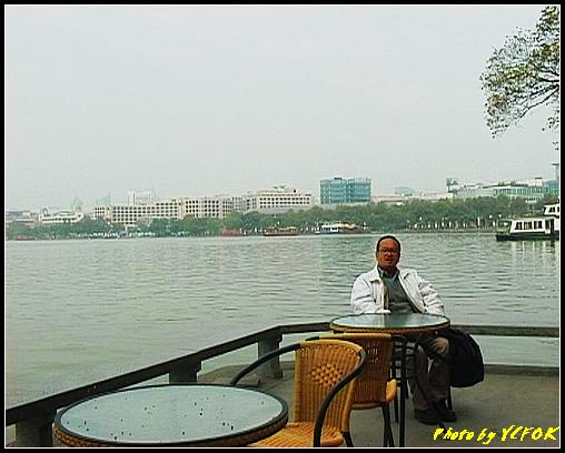 杭州 西湖 (其他景點) - 630 (古湧金門一帶 背景是湖濱路的湖畔及市區)