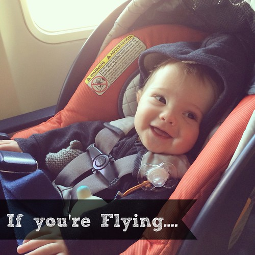 traveling with baby on plane