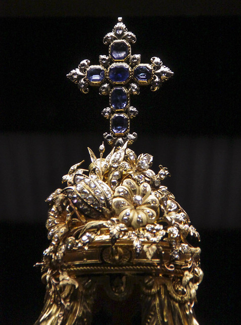 Monstrance decorated woman's jewellery - Southern Neterlands, 1782-1798