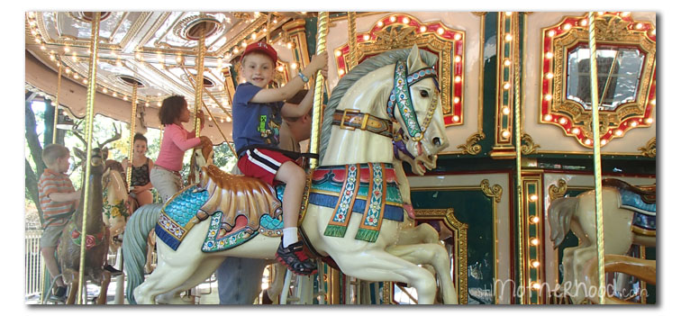 carousel at Grant's Farm