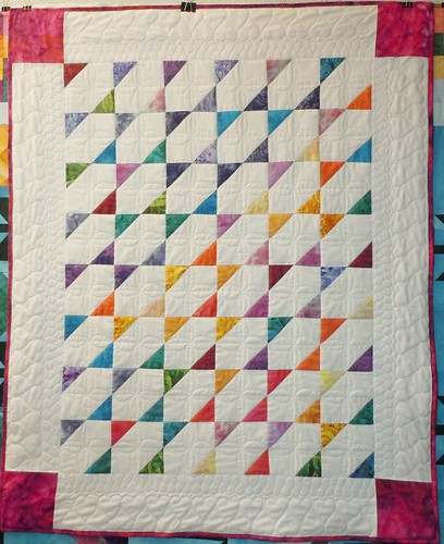 Stretched Star Comfort Quilt