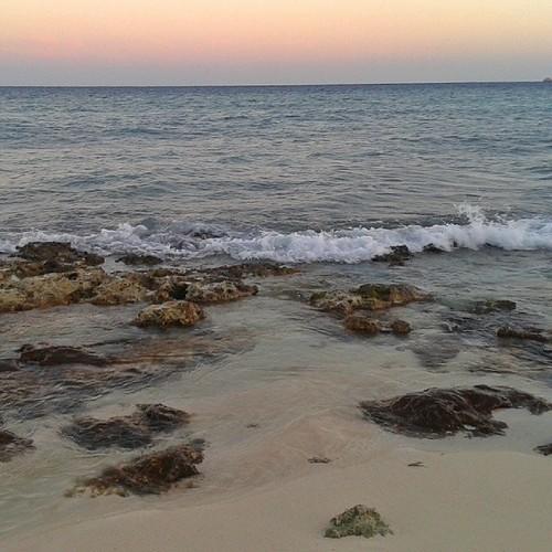 Auringonlasku, Playa del Carmen, Meksiko